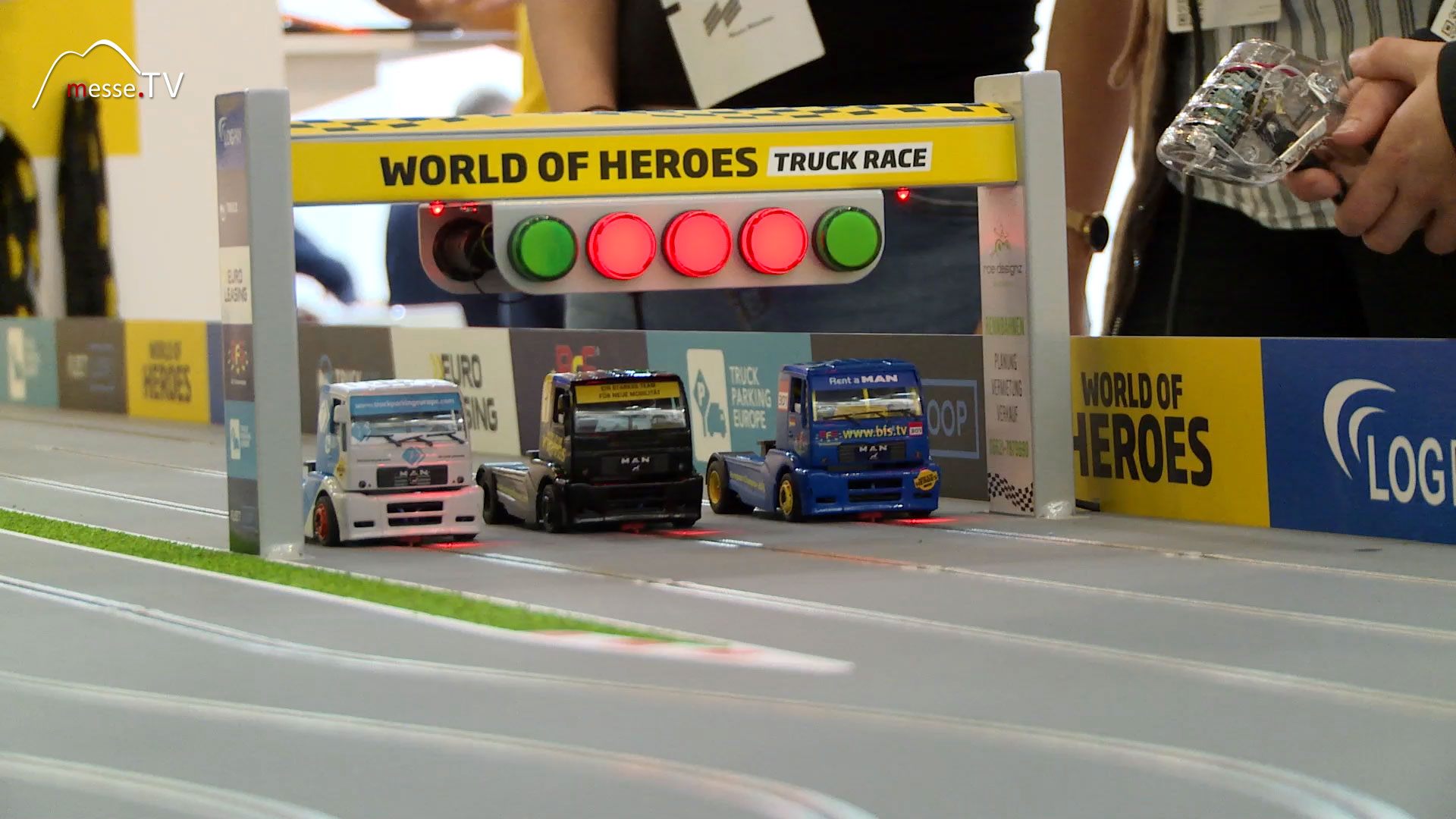 TRUCK JOBS World of Heroes transport logistic Messe München
