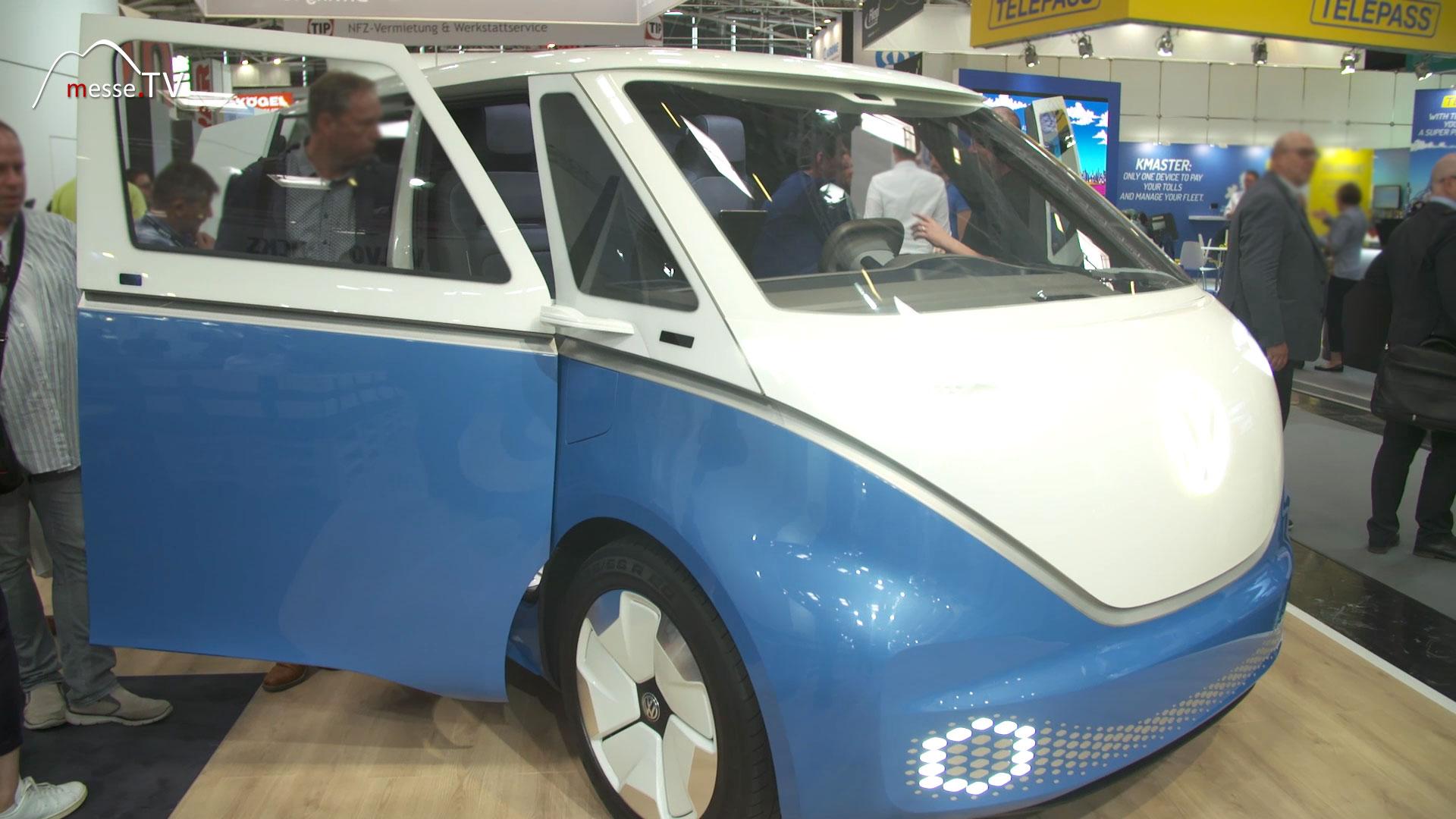 VW I.D. BUZZ CARGO, transport logistic 2019