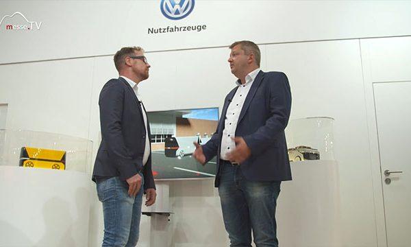 VW Nutzfahrzeuge: Autonomes Fahren, transport logistic 2019