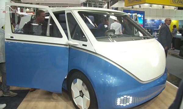 VW Nutzfahrzeuge: BUZZ CARGO Elektrofahrzeug, transport logistic 2019
