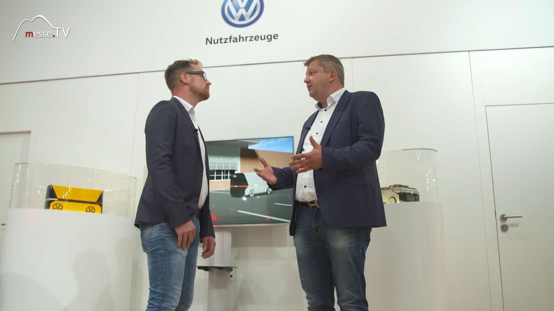 VW Nutzfahrzeuge Interview autonomes Fahren Börn Steuer