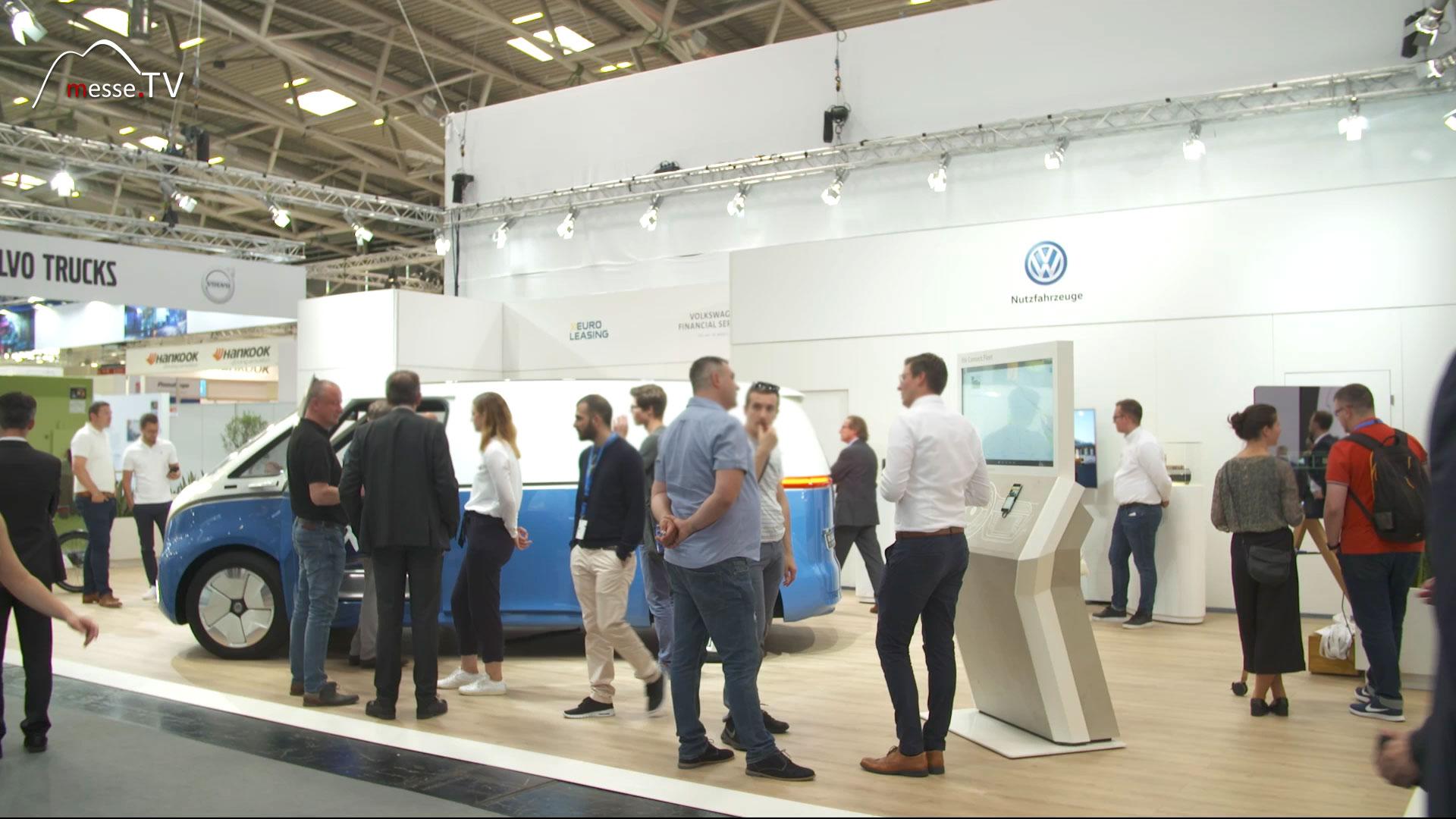 VW Nutzfahrzeuge Messestand transport logistic 2019 Messe München