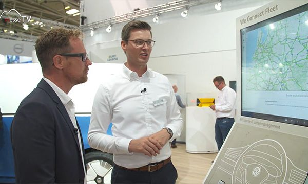 VW Nutzfahrzeuge: We Connect Fleet – Flottenmanager, transport logistic 2019