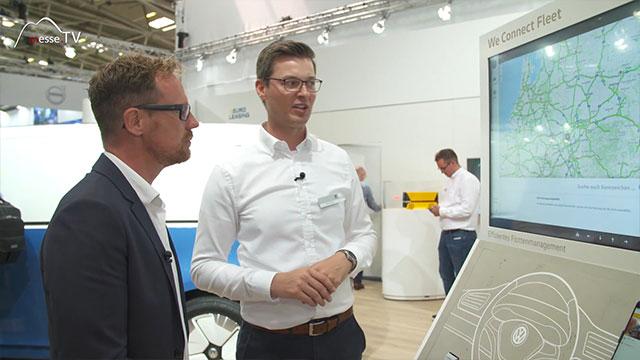 VW Nutzfahrzeuge: We Connect Fleet - Flottenmanager