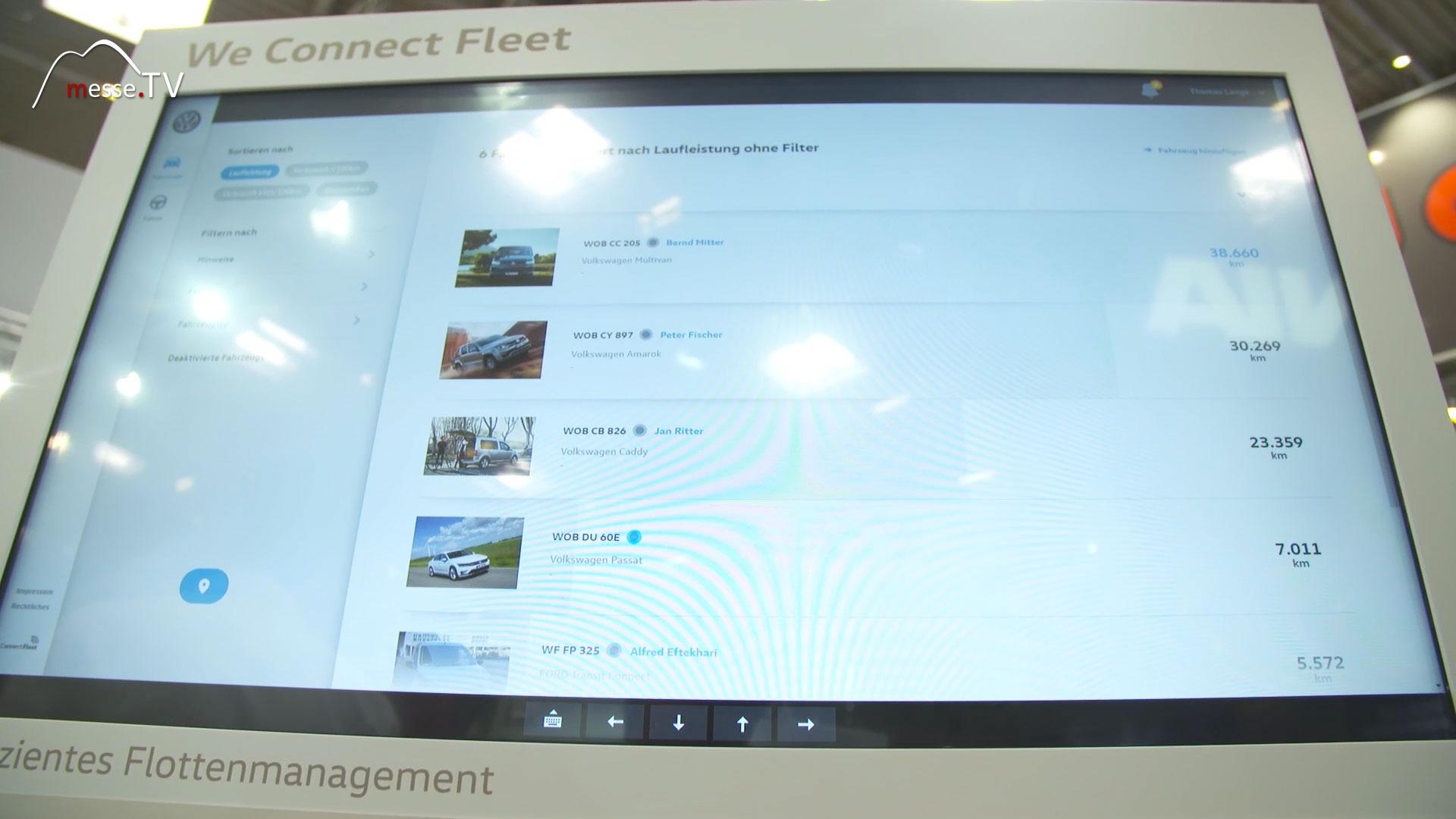 VW Nutzfahrzeuge: We connect Fleet effizientes Flottenmanagement