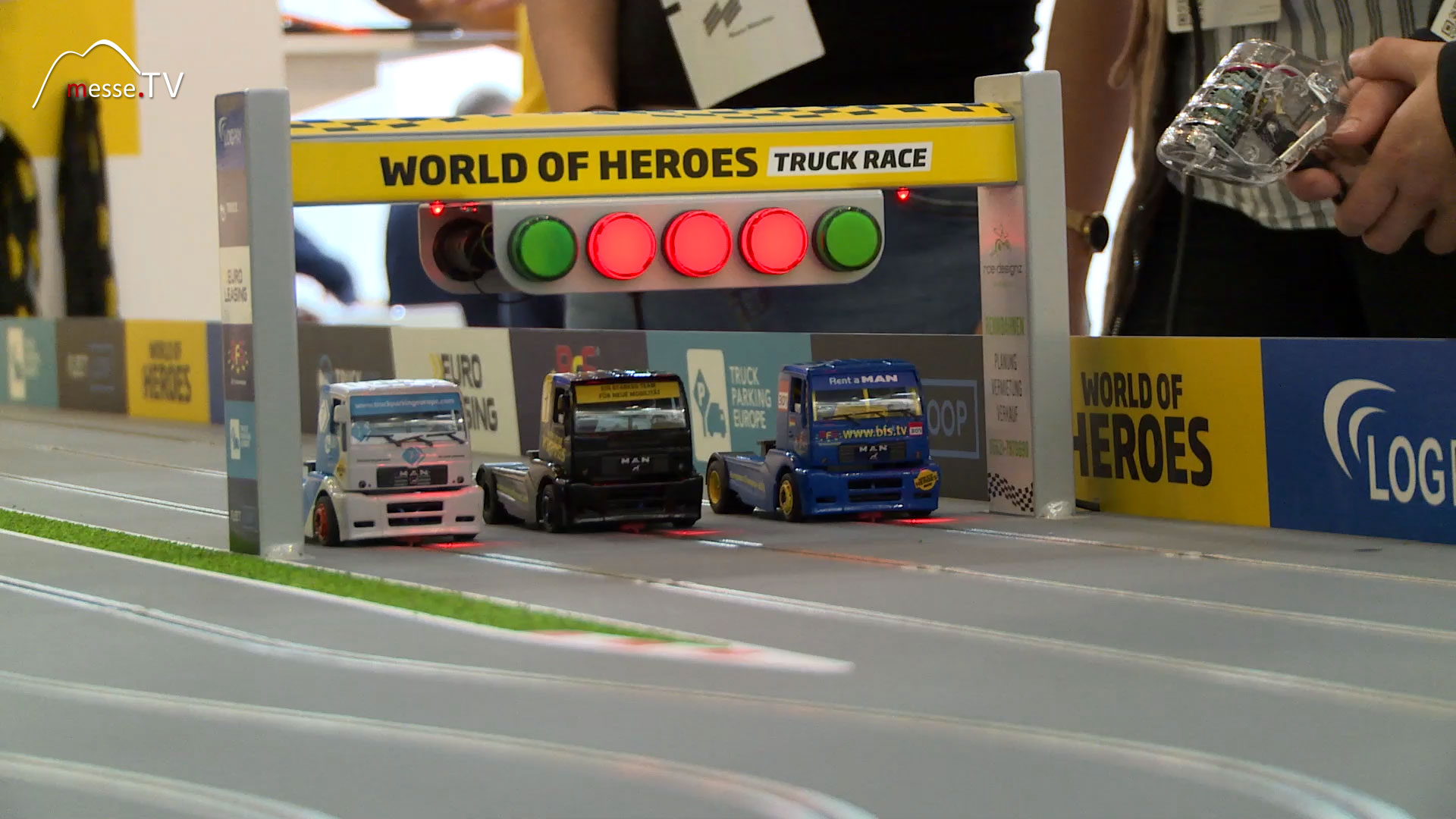 World of Heroes: Truck Race transport logistic 2019