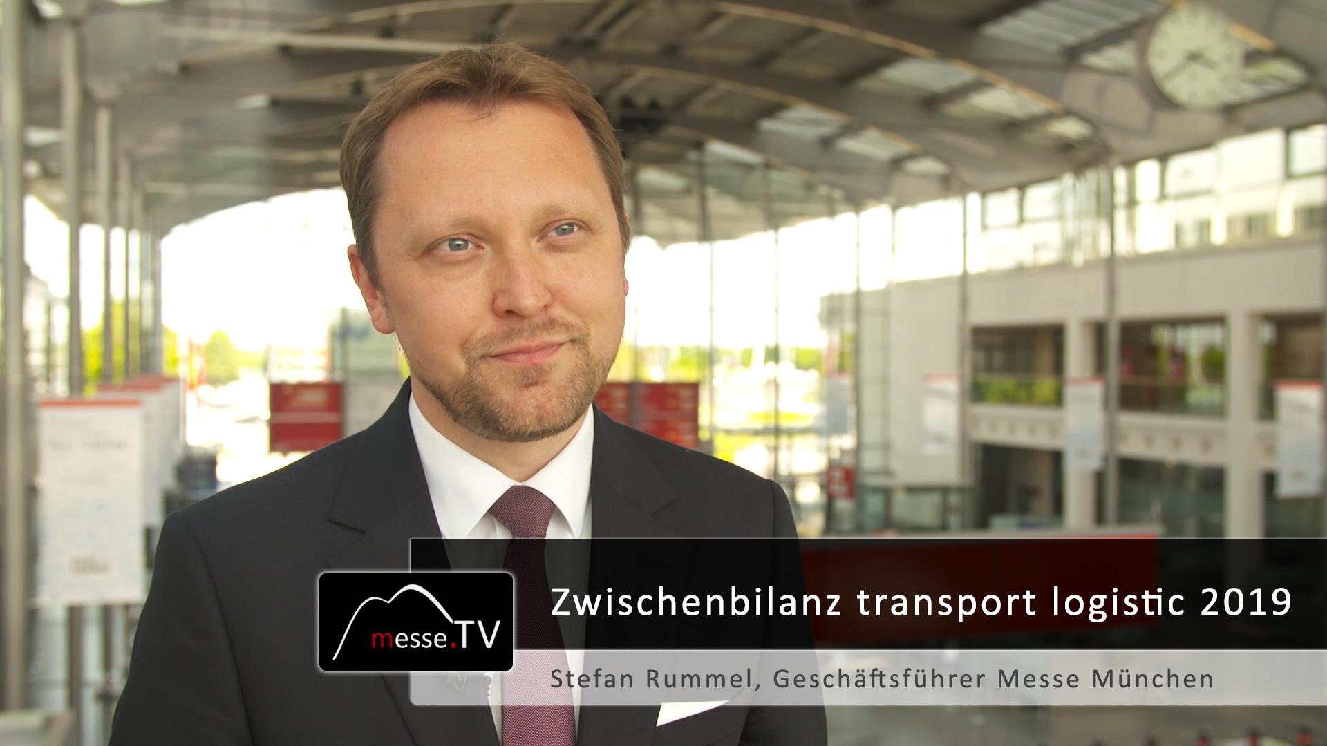 Zwischenbilanz - transport logistic 2019