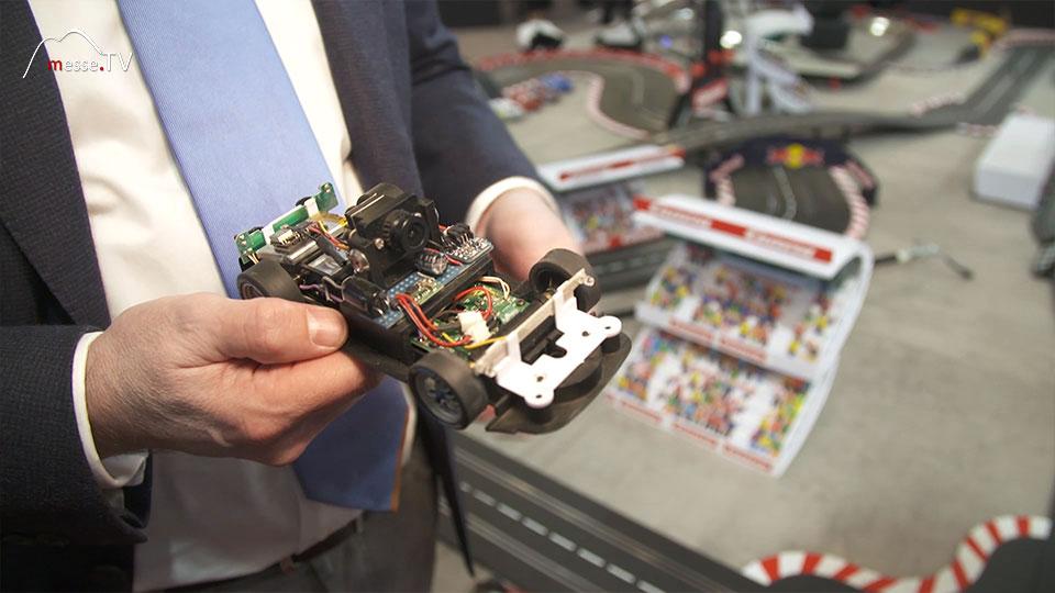 Autorennen Onboard Kamera VR Brille Carrera Spielwarenmesse 2019 Nürnberg