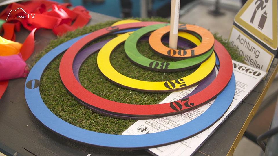 Einfach Spielen Ringe werfen Hossidesign Spielwarenmesse 2019 Nürnberg