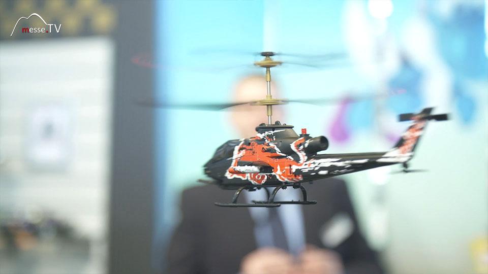 Hubschrauber ferngesteuert CarreraRC Spielwarenmesse 2019 Nürnberg
