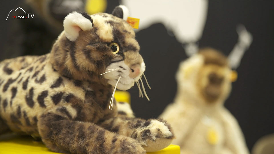 National Geographic Plüschtier Leopard Steiff Spielwarenmesse 2019 Nürnberg