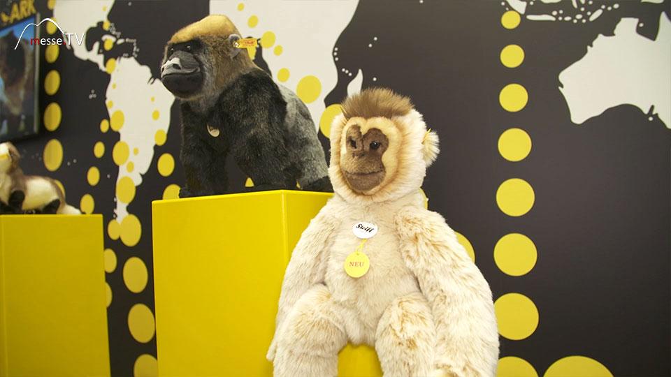 National Geographic Plüschtiere Affen Steiff Spielwarenmesse 2019 Nürnberg