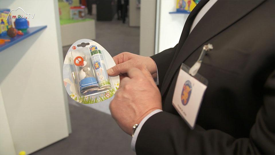 Pustefix Seifenblasen Bubbelix Spielwarenmesse 2019 Nürnberg