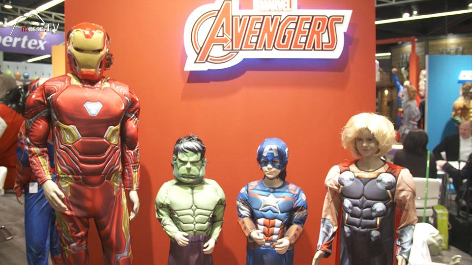 Rubies Avengers Kostüme Spielwarenmesse 2019 Nürnberg Bild13