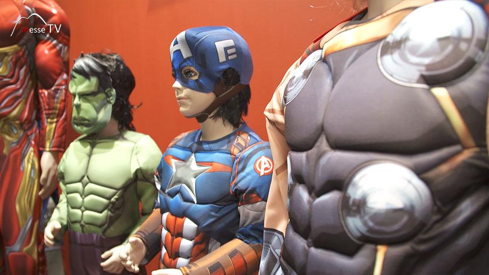 Rubies Avengers Kostüme Spielwarenmesse 2019 Nürnberg Bild 2