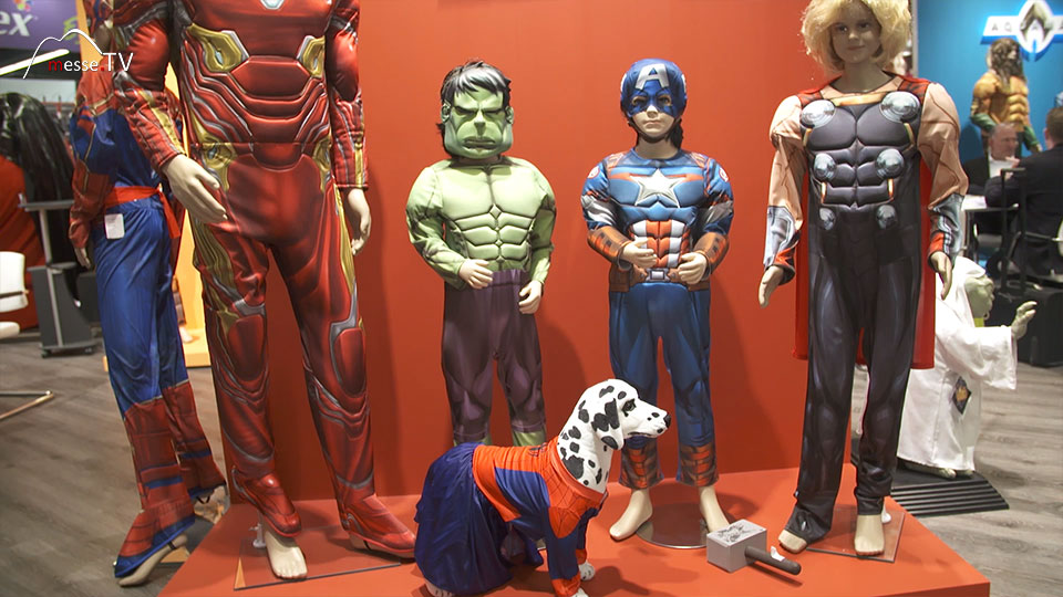 Rubies Avengers Kostüme Spielwarenmesse 2019 Nürnberg Bild 3