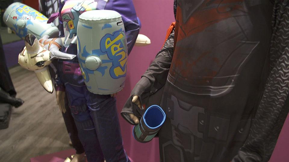 Rubies Fortnite Kostüme Accessoires Spielwarenmesse 2019 Nürnberg