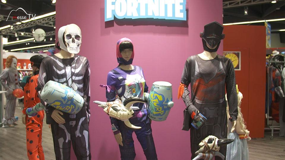 Rubies Fortnite Kostüme Spielwarenmesse 2019 Nürnberg