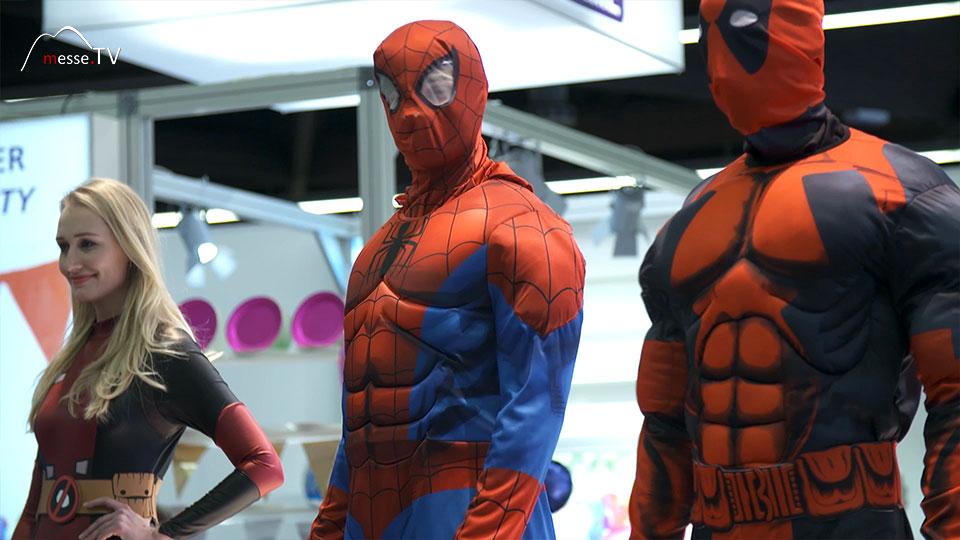 Rubies Showtime Avengers Kostüme Spielwarenmesse 2019 Nürnberg