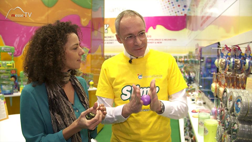 Slimy Intelligente Knete Spielwarenmesse 2019 Nürnberg