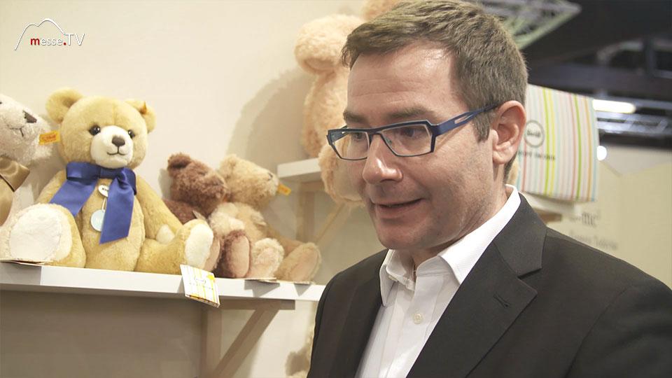 Steiff Zotti Bär Peter Hotz Spielwarenmesse 2019 Nürnberg