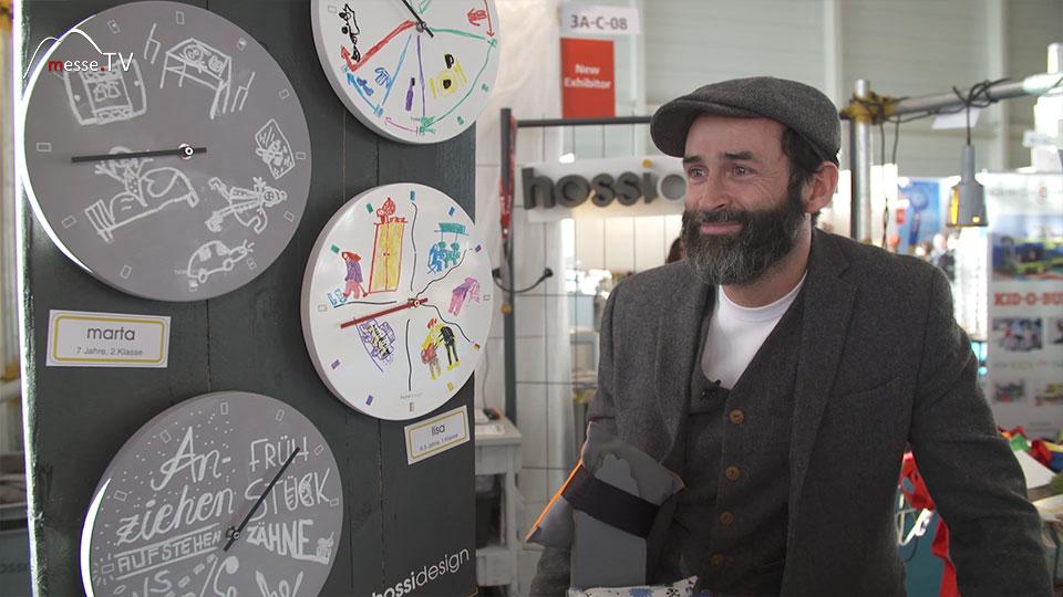Zeitplanung Morgen mit Kindern Hossidesign Spielwarenmesse 2019 Nürnberg