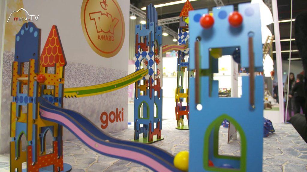 Goki Ritterburg Kugelbahn Toyaward Gewinner Spielwarenmesse 2020