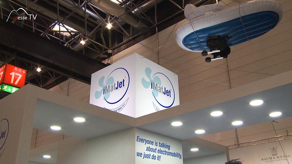 Imtech iMatJet Messeauftritt boot 2020