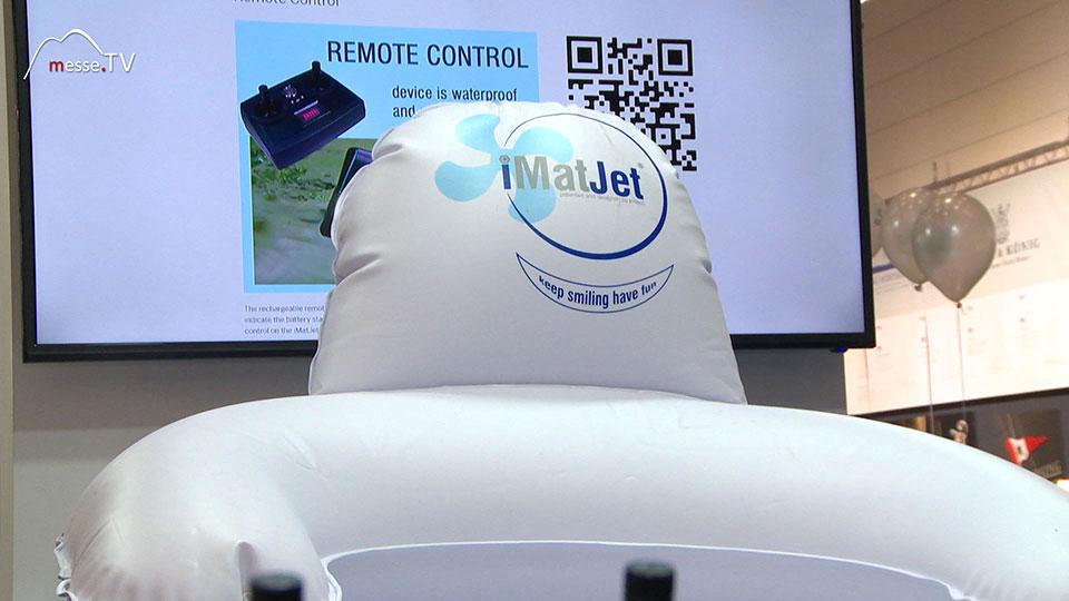Imtech iMatJet Poolchair mit Antrieb boot 2020