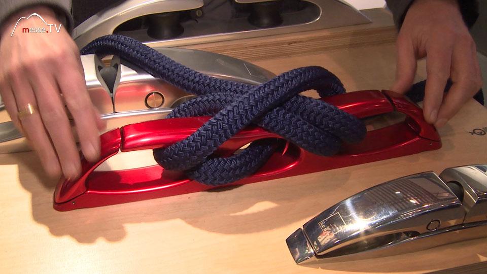 Nomen klappbare Klampe 2 Boot Segeln geschlossen