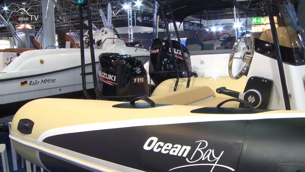 Ocean Bay MX 580 Schlauchboot mit Sonnendeck