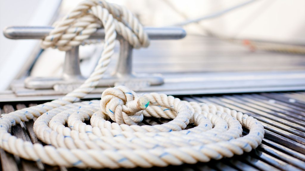 Bootausrüstung Tau Seil