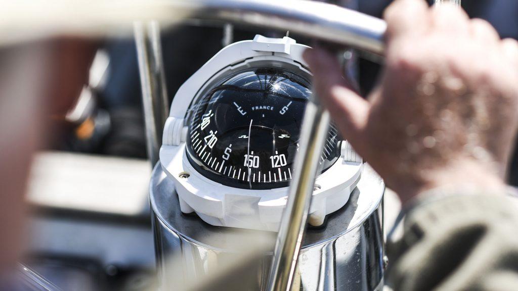 Bootausstattung Navigation Kompass