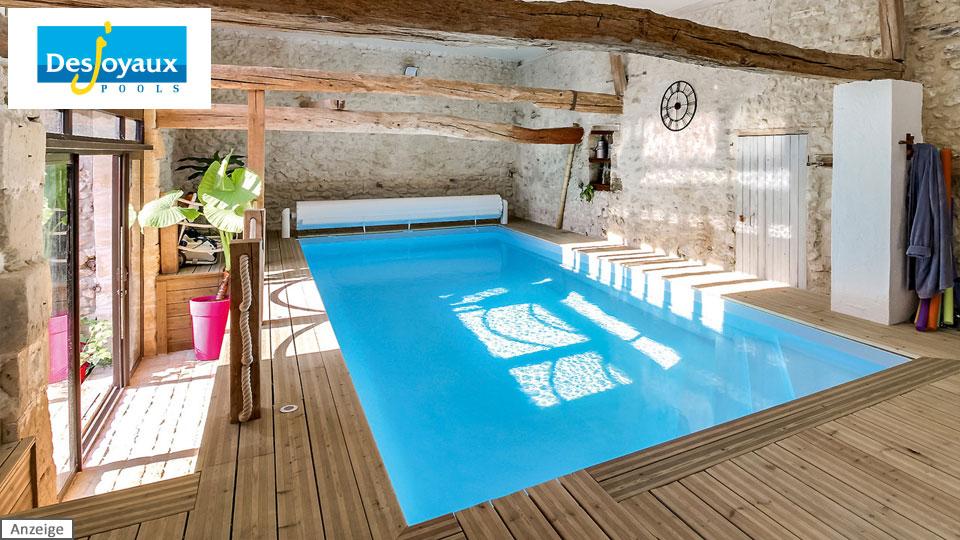 Desjoyaux Pools Swimmingpool - Sponsor Messe.TV boot 2020