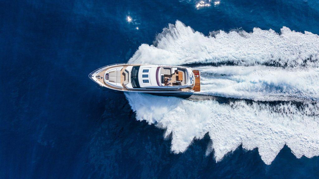 Motorboot fahren Reise Meer