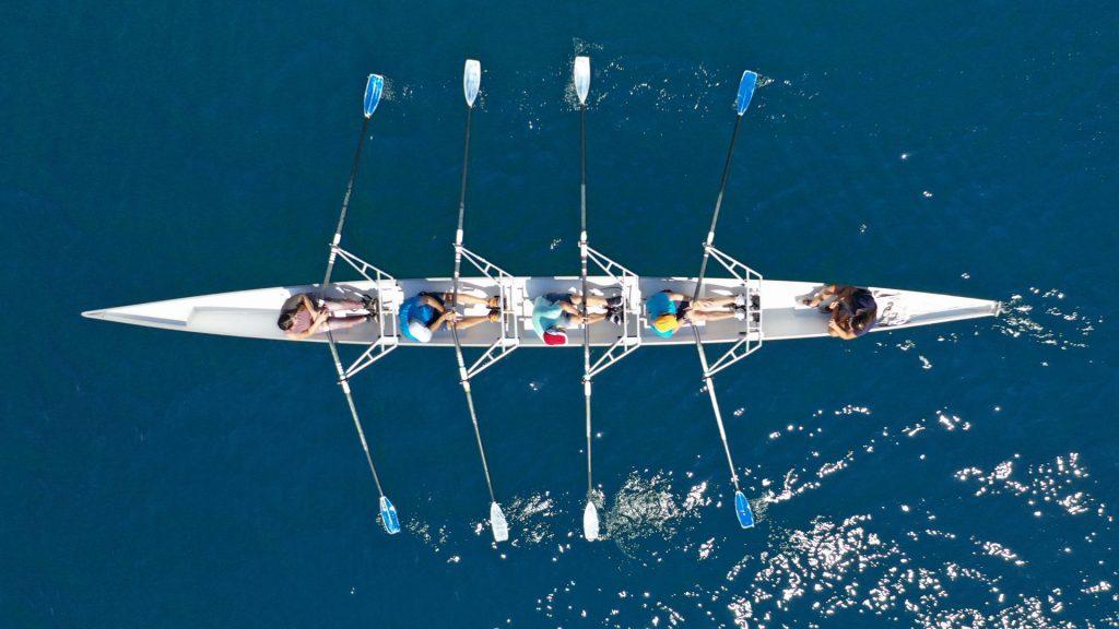 Rudern: Ruderboot