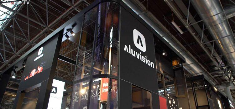 Aluvision Messesystem auf der EuroShop 2020 in Düsseldorf