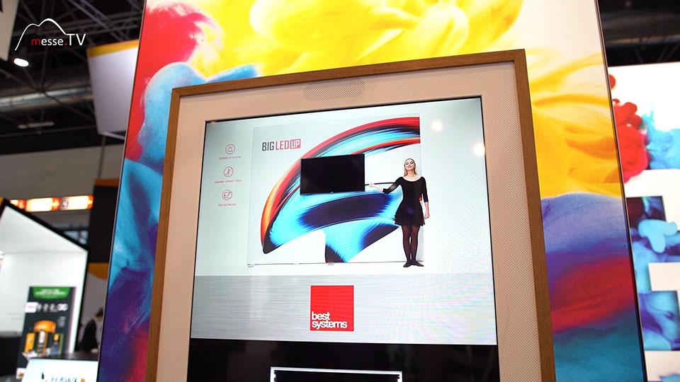 BIG-LEDUP Display mit Bildschirm Integration Best Systems