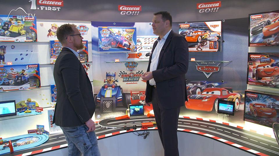 Carrera Spielwarenmesse 2020 Interview Stefan Krings
