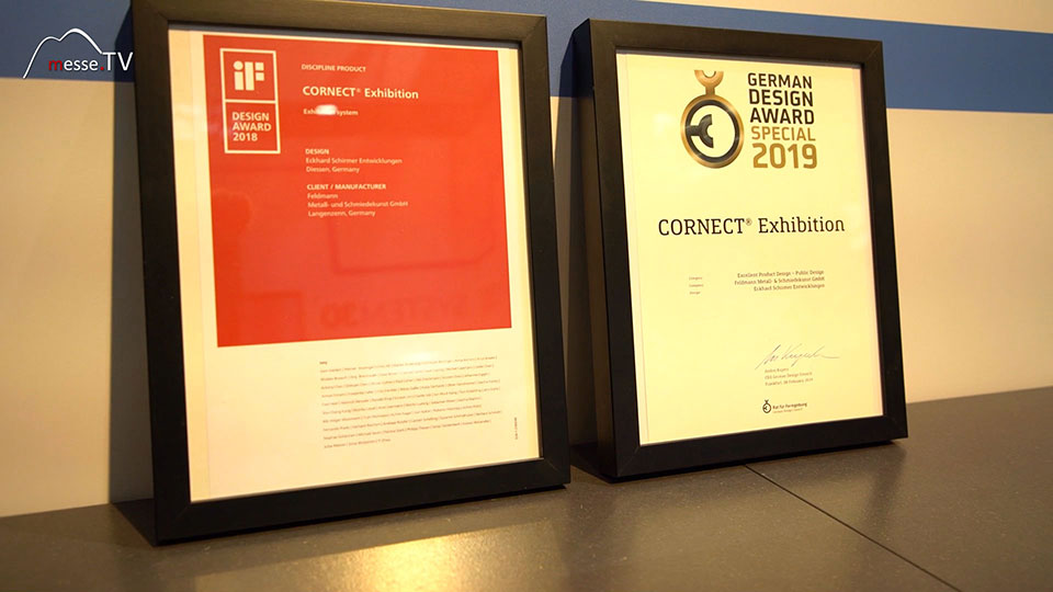Cornect Exhibition German Design Award Special 2019