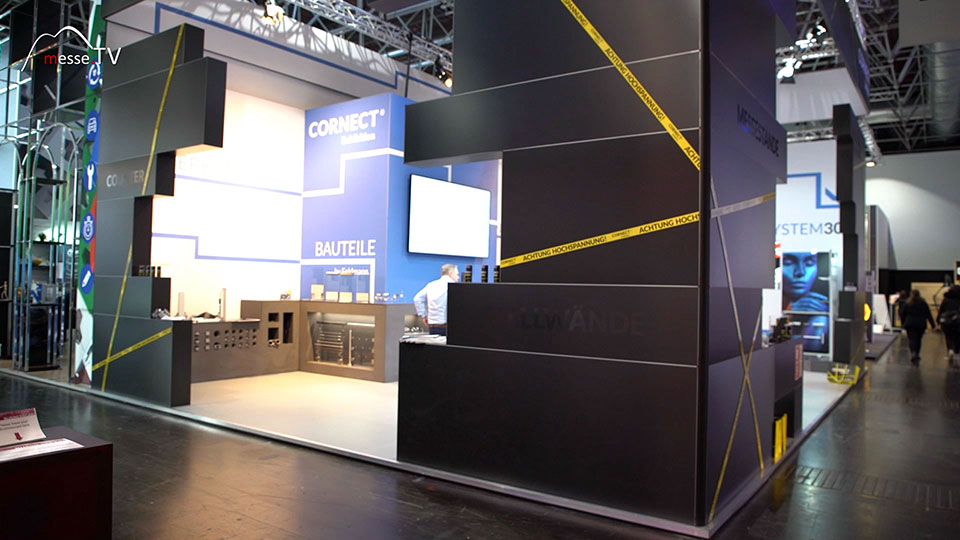 Cornect Exhibition Messebau System Euroshop