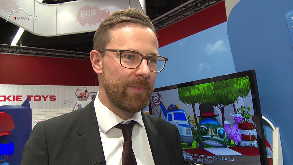 Dickie Toys Alexander Löhr Spielwarenmesse