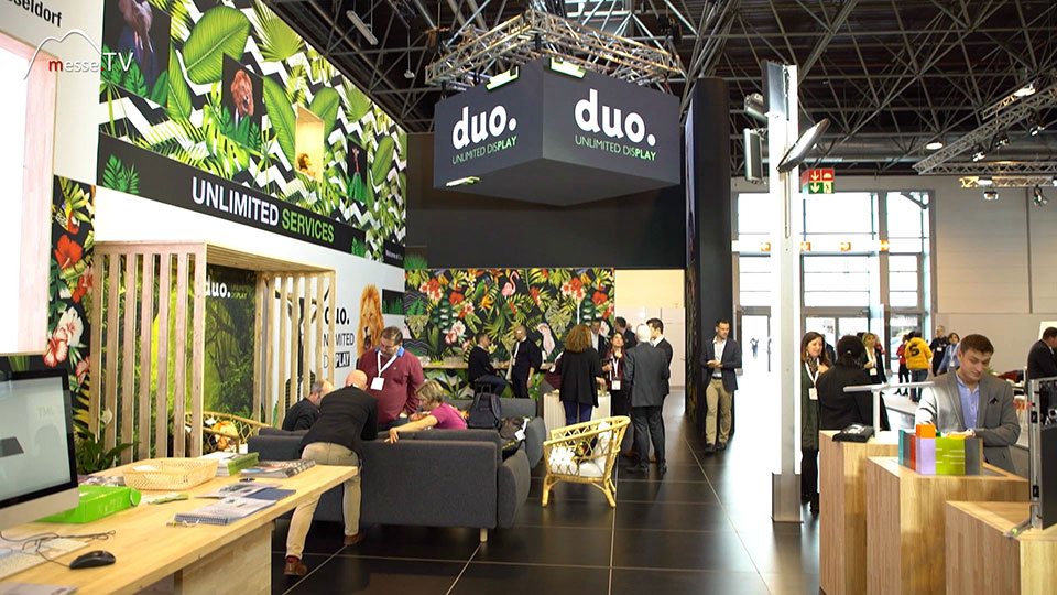 Duo Display Messesystem Euroshop