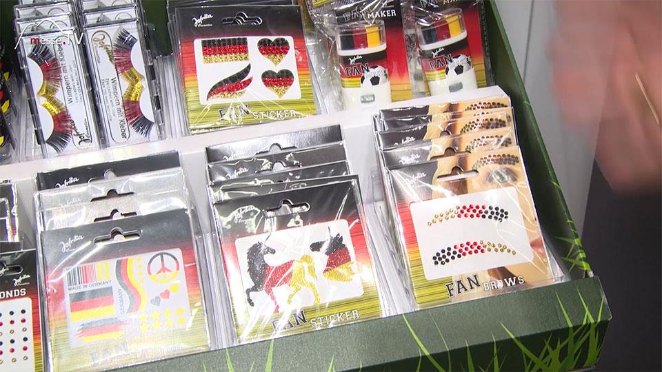 Fan Sticker Fussball WM