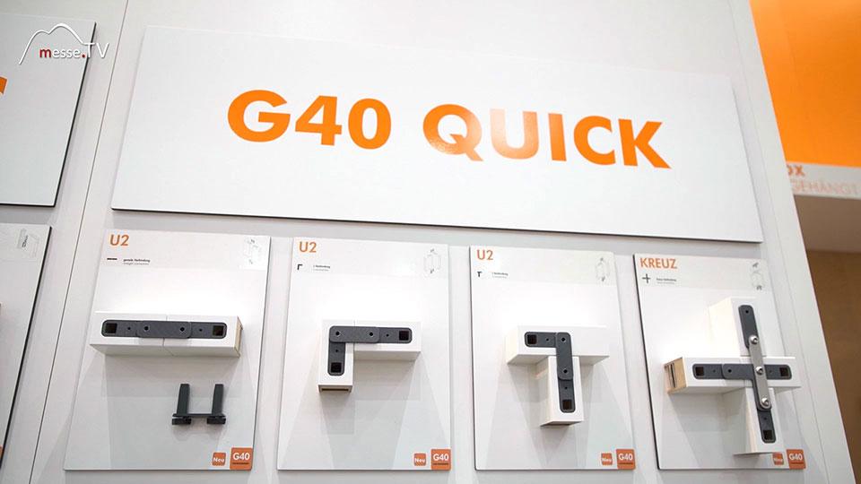 G40 Quick Schnellbau Wandsystem Messe Gilnhammer