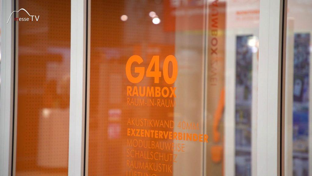 Gilnhammer G40 Classic - modulare Raumbox