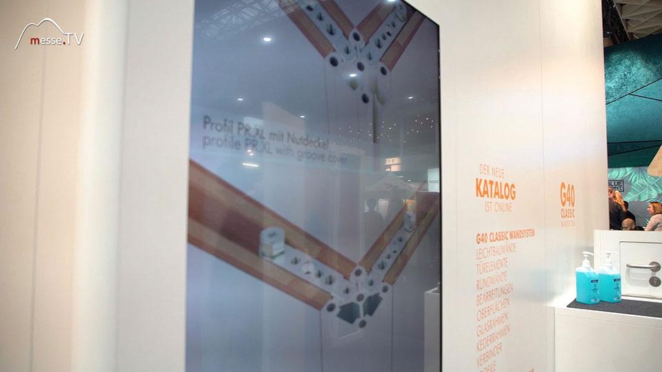 Gilnhammer modulare Wandsysteme Messebau