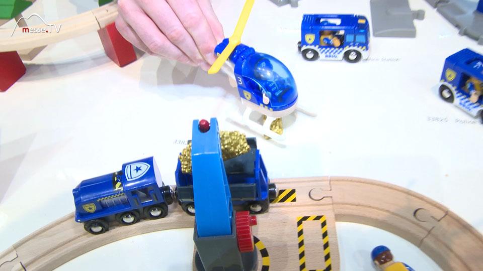 Goldtransporter Spielzeug Schiene