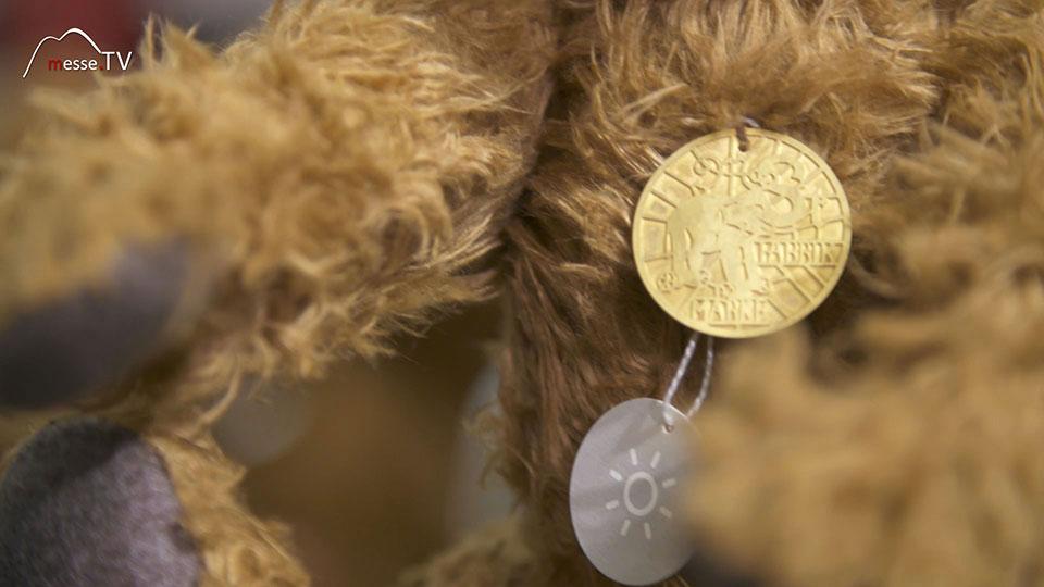 Hansel Steiff Teddybär 1000 Stück imitierte Auflage - Spielwarenmesse