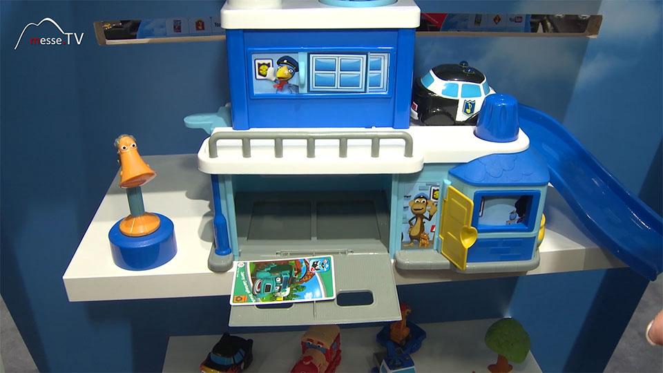 Helden der Stadt Spielstation Spielzeugpolizei Polizeistation